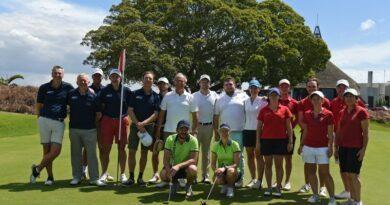 En route vers l'Ile Maurice pour la 3ème édition de la Beachcomber Golf Cup