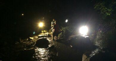canyoning de nuit