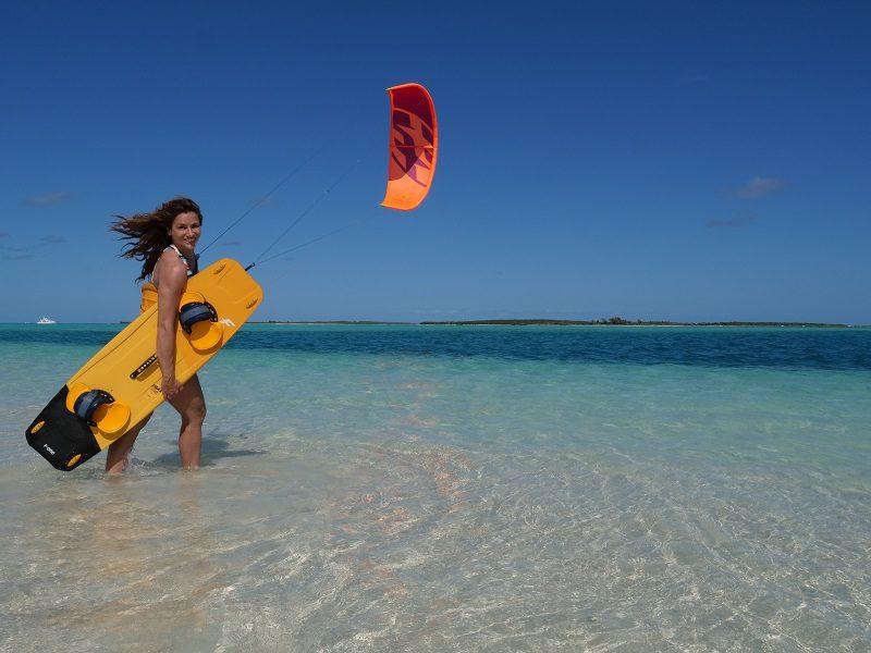 Charlotte Consorti, championne du monde de kitesurf : au nom du soleil, du voyage et du vent 3