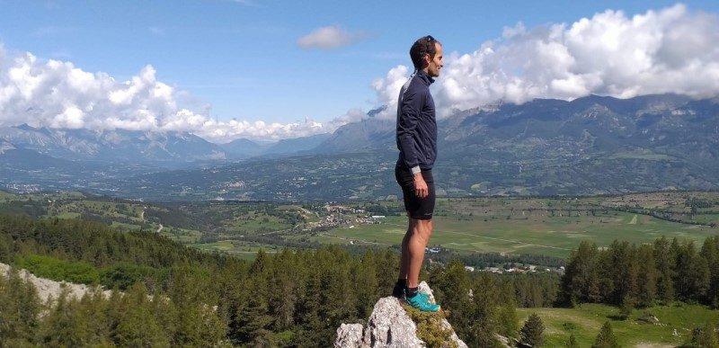 Un Gapençais s'attaque au record du Vieux Chaillol dans les Alpes 2
