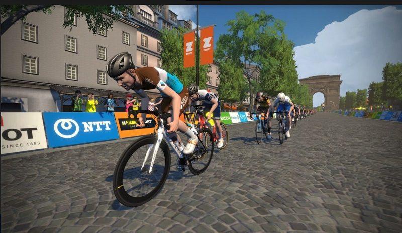 Les paysages du Tour de France en mode virtuel 2