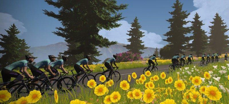 Les paysages du Tour de France en mode virtuel 1