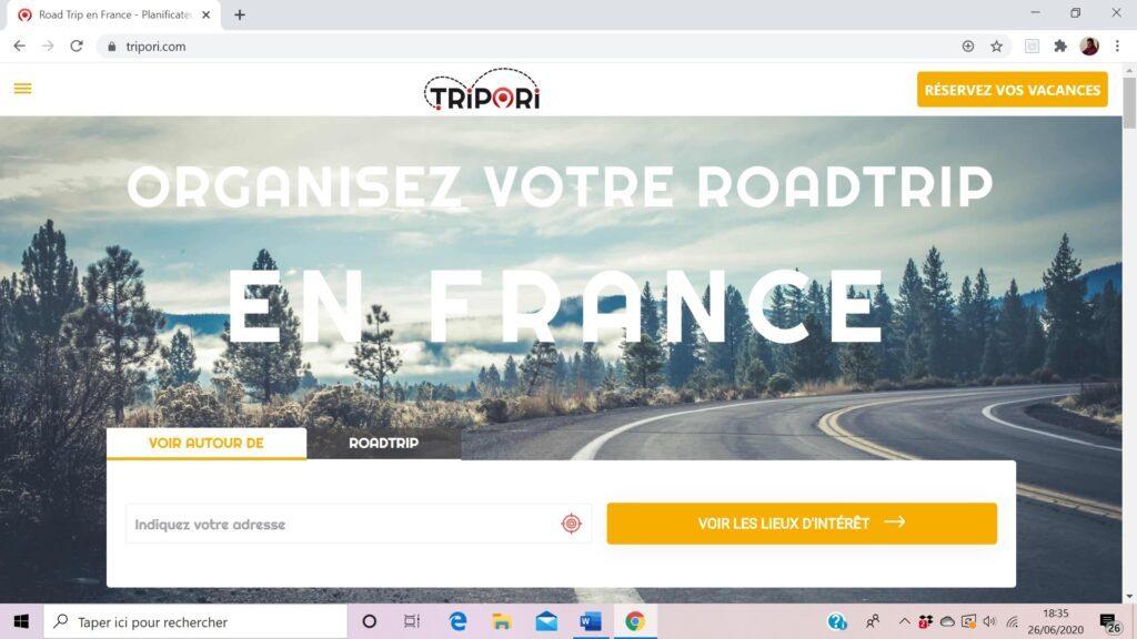 Tripori.com, pour organiser des roads trip