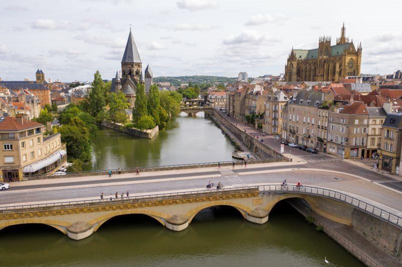La Moselle, Voie Bleue
