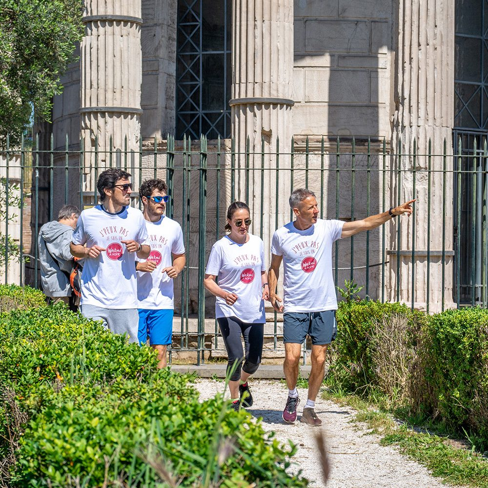 Weekend à Rome, footing