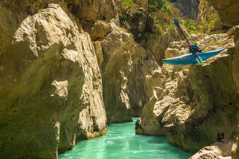 Gorges du Verdon, Kayak