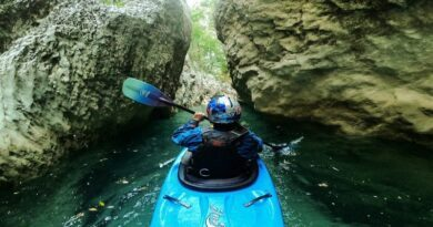 kayak, Gorges du Verdon