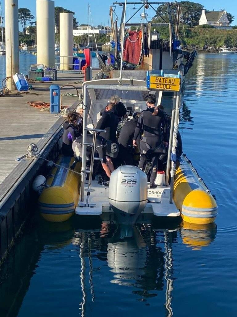 Plongeurs Lanildut