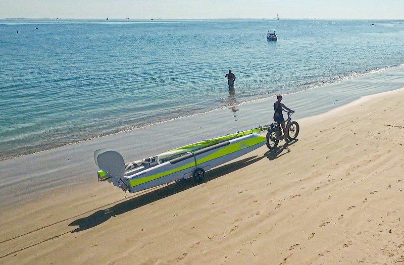 Un catamaran transportable et monté en seulement 15 minutes 2