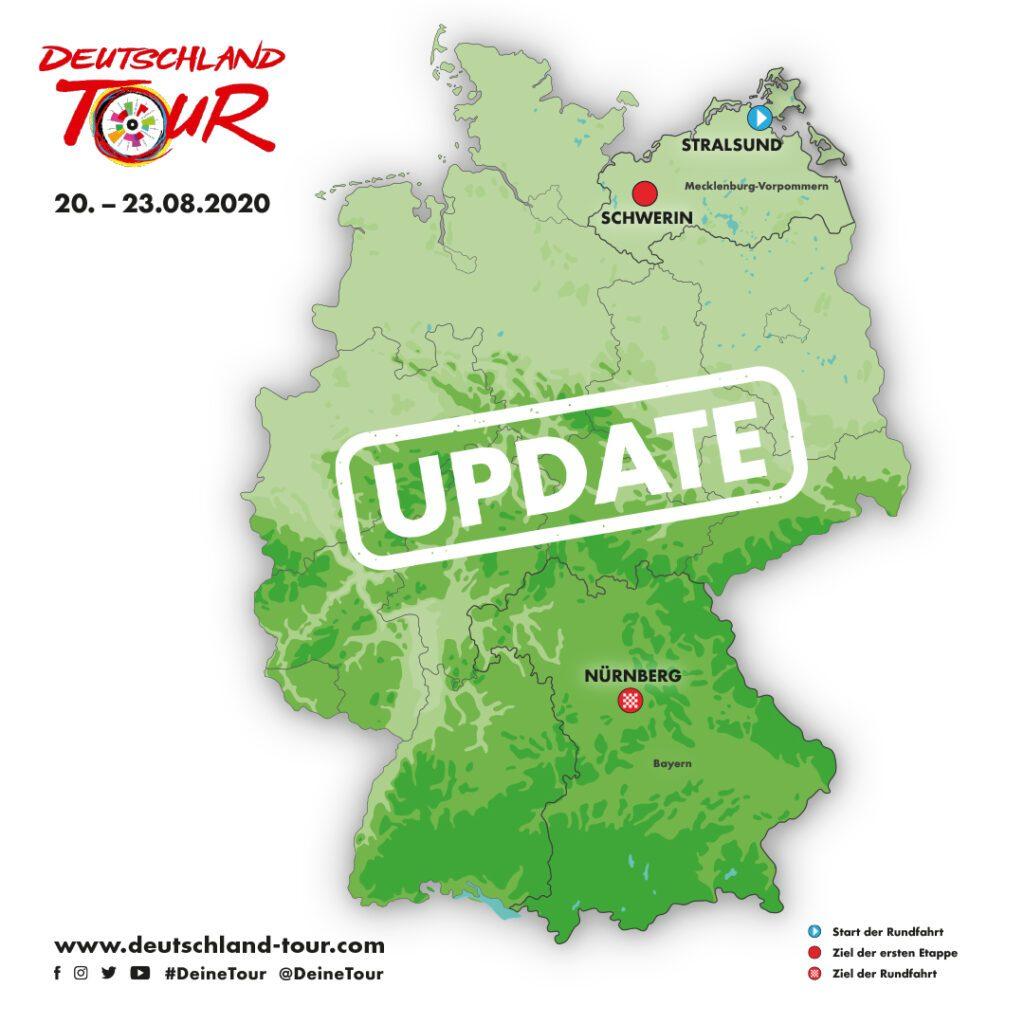 Le Deutschland Tour 2021 fera l'éloge de la diversité allemande 2