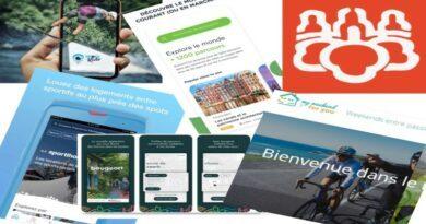 application sport et tourisme