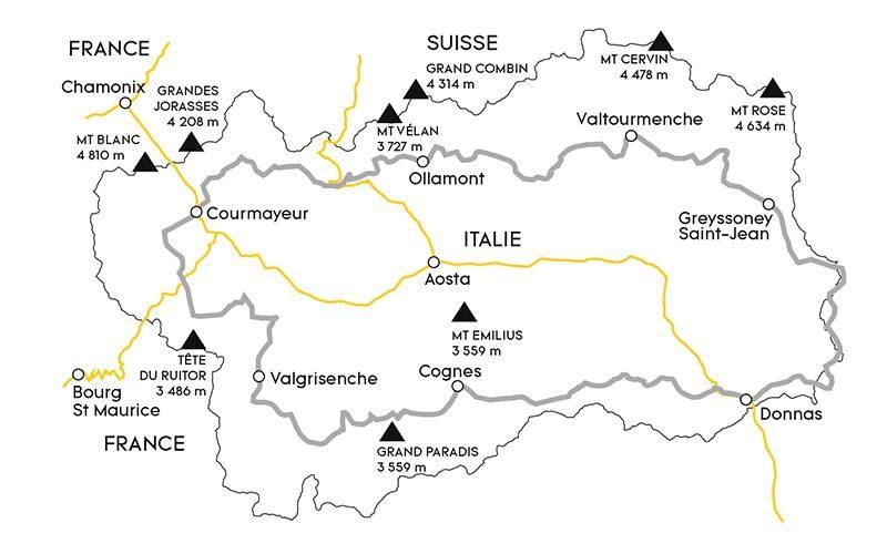 Pratiquer les sports d'hiver dans la Vallée d'Aoste, la plus française des régions d'Italie 1