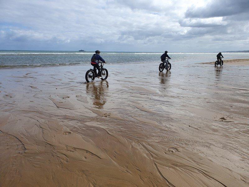Découvrir les plages du Débarquement autrement grâce au Fat Bike 2