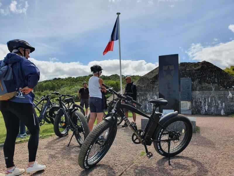 Découvrir les plages du Débarquement autrement grâce au Fat Bike 4