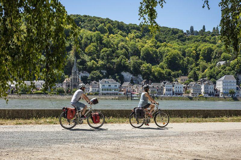 Avec l'itinéraire cyclable La Seine à Vélo, Paris est reliée à la mer 1