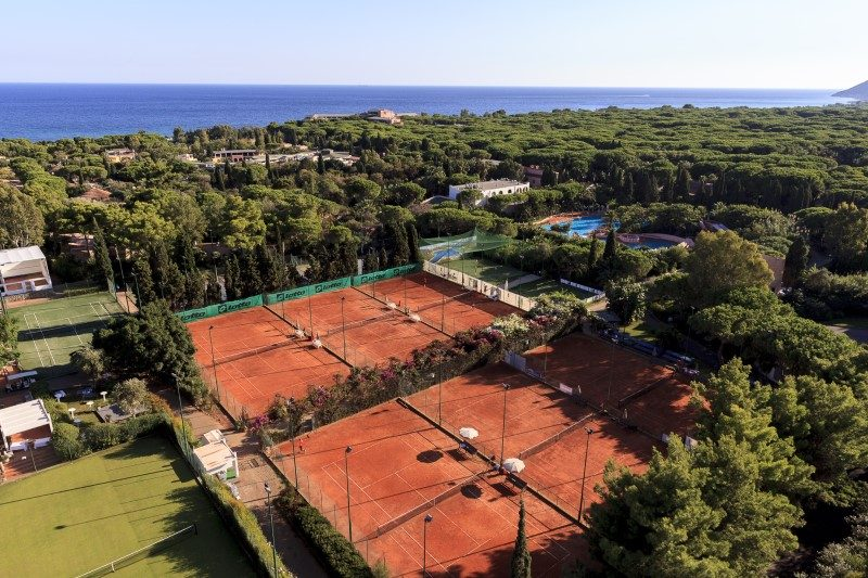 Le Forte Village Sardaigne accueille un tournoi de tennis international 1