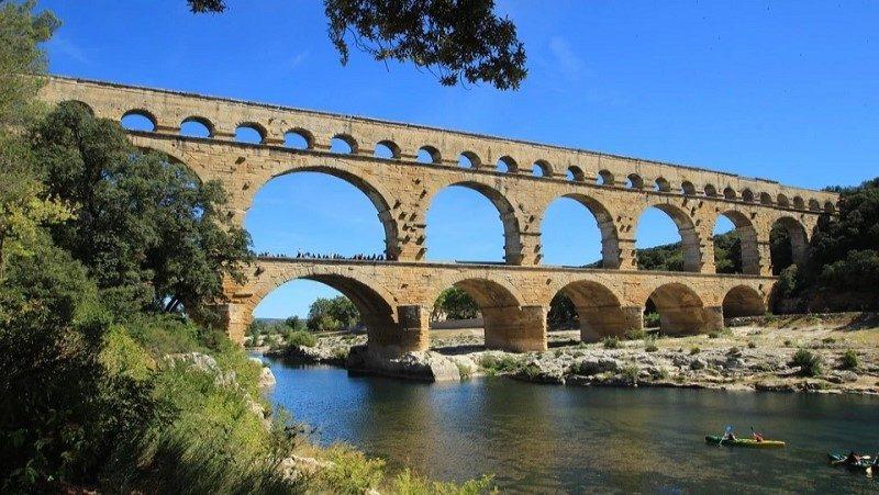 Gard, pont