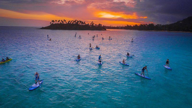 Et, pendant ce temps, aux îles Cook, on organise des « Jeux Olympiques » 3