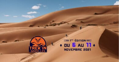 Première édition en 2021 au Maroc du Trek'in Gazelles, nouveau challenge sportif féminin 6