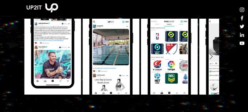 UP2IT : petite appli entre amis pour les fans de sport 2