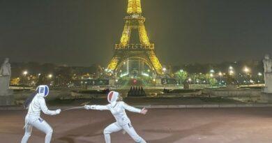 VIDEO – L'escrimeuse Pauline Ranvier illumine Paris 4