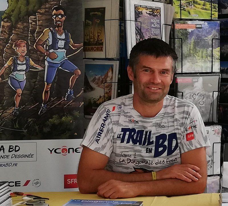 Après la Diagonale des Fous, le traileur Fabrice Cifré met le Tour du Mont-Blanc en BD 1