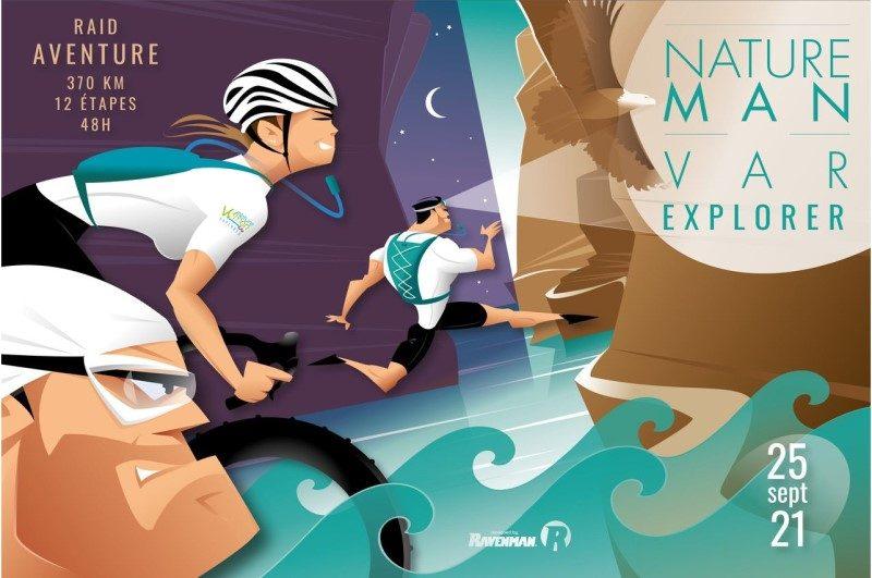 Natureman Var Explorer, un raid inédit pour sportifs aguerris 1