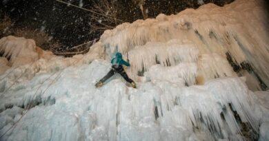 Aux Contamines-Montjoie, la glace dans tous ses états avec le ruisseling 2