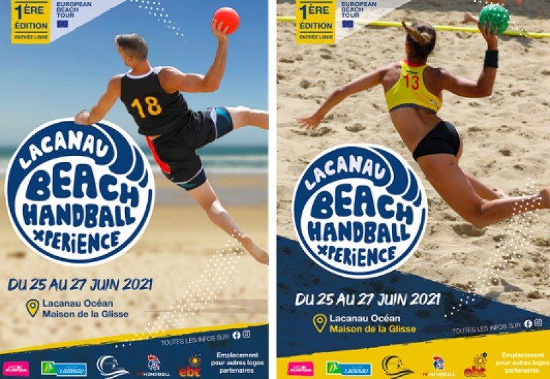 Le Beach Handball débarque cet été sur la plage de Lacanau 2