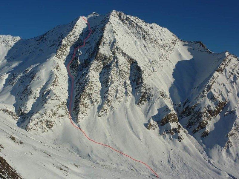 Serre Chevalier Vallée Briançon théâtre d'un exploit en snowkite 2