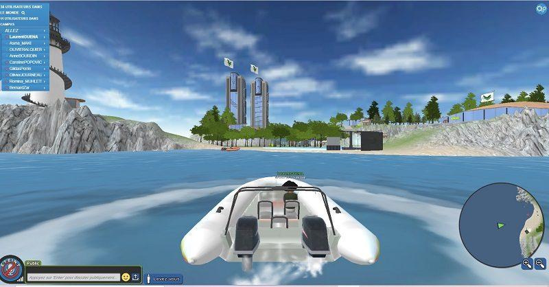 Avec votre avatar, trouvez des idées de vacances outdoor au salon Virtual Nautic 1