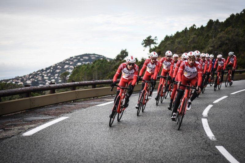 L'équipe cycliste Cofidis s'associe à la station d'Isola 2000 1