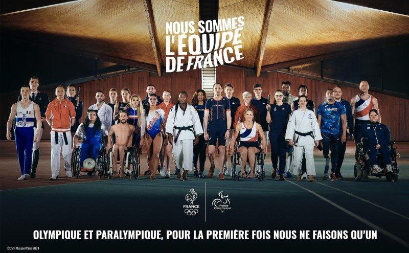 Tokyo J - 100 : les équipes de France olympique et paralympique ne font plus qu'une 3