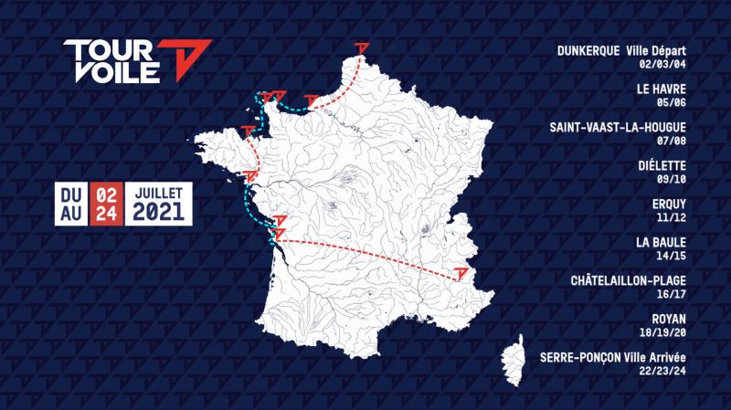 Le lac de Serre-Ponçon, cadre de la finale du Tour Voile du 22 au 24 juillet 3