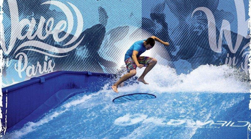 Wave in Paris, surf in Paris 1
