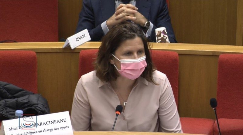 Roxana Maracineanu : « Merci aux 360 000 associations sportives d'avoir tenu le coup »