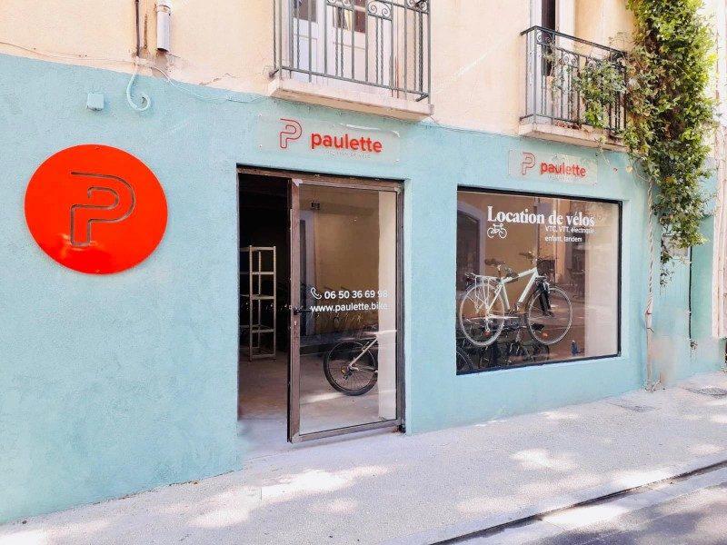 Paulette promeut la découverte de la France à vélo 2