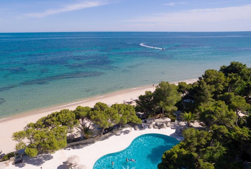 Escalade et aviron désormais possible au Forte Village Resort en Sardaigne 1