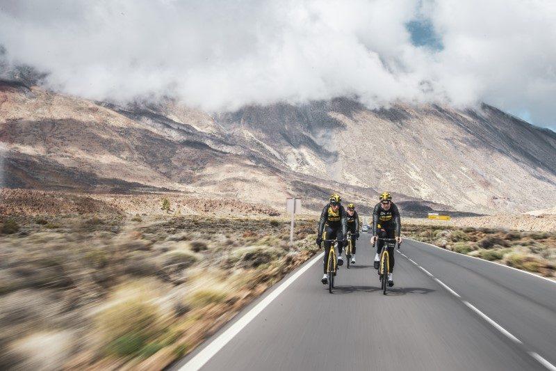 L'équipe cycliste Jumbo Visma fan de Tenerife 1