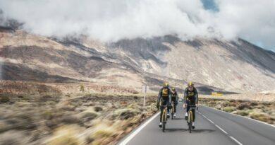 L'équipe cycliste Jumbo Visma fan de Tenerife
