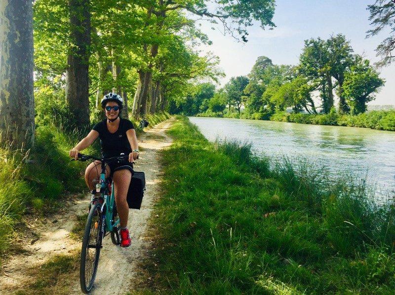 Paulette promeut la découverte de la France à vélo 1