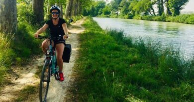 Paulette promeut la découverte de la France à vélo 3