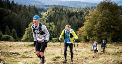 Les Montagnes du Jura se dévoilent tout au long d'un trail (UTMJ) 5