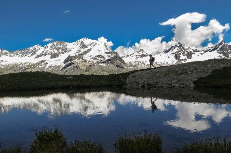 D'une frontière à l'autre en marchant avec le trek nature Grand Paradis Vanoise 2