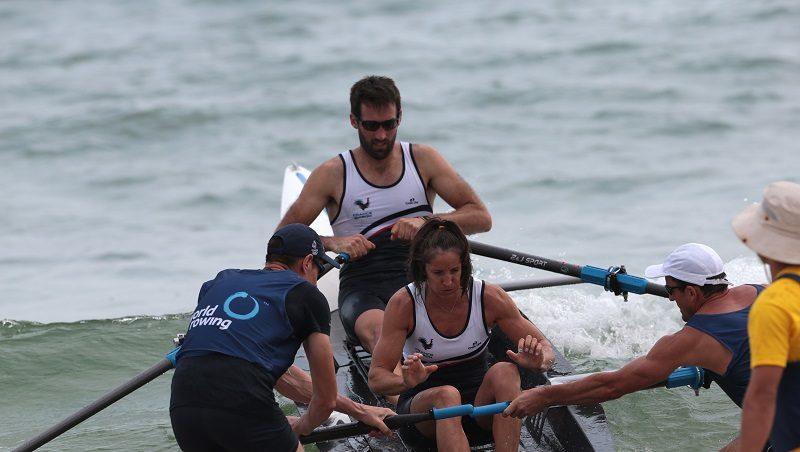 Connaissez-vous le Beach Rowing Sprint ? C'est de l'aviron et c'est spectaculaire 1