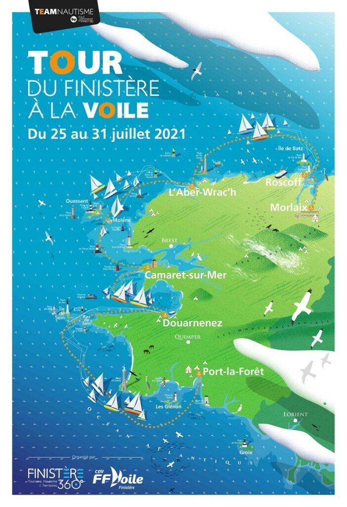 Le Tour du Finistère à la voile met à l'honneur les côtes bretonnes 1