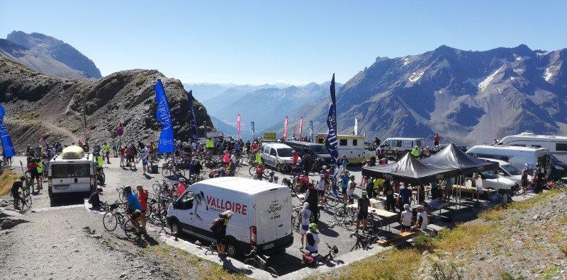 Mountain Collection 2021 : le 19 août, montée du col du Galibier 2
