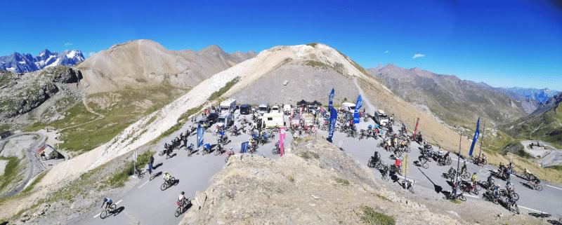 Mountain Collection 2021 : le 19 août, montée du col du Galibier 3