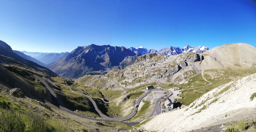 Mountain Collection 2021 : le 19 août, montée du col du Galibier 1