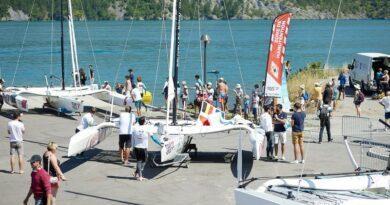 Les équipages du Tour Voile 2021 régatent sur le lac de Serre-Ponçon 3